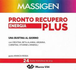 MASSIGEN PRONTO RECUPERO ENERGIA PLUS 24 BUSTE