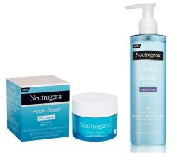 NEUTROGENA HYDRO BOOST CREMA GEL 50ml IN OMAGGIO HYDRO BOOST LATTE DETERGENTE 200ml