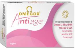 OMEGOR ANTIAGE INTEGRATORE ALIMENTARE OMEGA 3 EPA DHA 30 PERLE