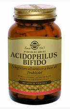 SOLGAR ACIDOPHILUS BIFIDO 60 CAPSULE VEGETALI