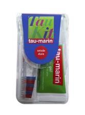 TAU-MARIN kit da viaggio spazzolino con setole dure