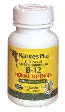 VITAMINA B12 SUBLINGUALE NATURE'S PLUS 30 LOSANGHE
